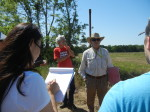 LGS Fld trip 5-3-2014 1st stop on the Pleistocene terrace on LK Martin Rd. Lafayette Parish